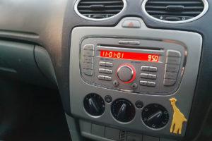 Ford radio V codes
